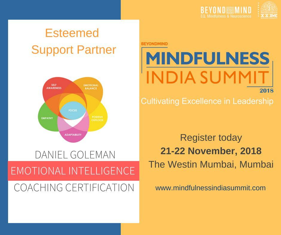 IIMA-BeyondMind Mindfulness India Summit 2018: Cultivating Excellence in Leadership